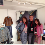 Giammona Collective founder, Carly Giammona, and team at LA trade show