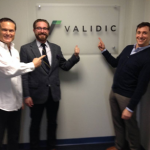Validic cofounders Ryan and Drew are all smiles after their $12 million dollar raise.