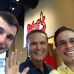 FilterEasy cofounders  can stop eating all meals at Moe's now that they have $1.2 million.