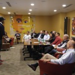 Lighthouse students pitch at Cofounders Lab Pitch Day