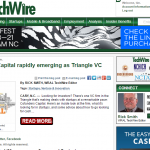 WRAL: CFC Rapidly Emerging as Triangle VC Power Player