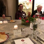 David and Kevin Barry, co-founder of FilterEasy, at the NC State Chancellor's dinner