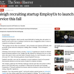 N&O: Raleigh recruiting startup EmployUs to launch service this fall