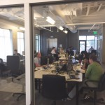 Entrepreneurs at work in the Cofounders Lab