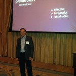 David host the Opportunity International Event
