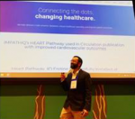 Impathiq CEO, Iltifat Husain, presenting at Epic Conference