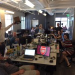 Jimmy John's brings lunch to Cofounders Lab