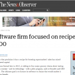 N&O: Cary software firm focused on recipes raises $400,000