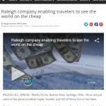 WNCN: Raleigh company enabling travelers to see the world on the cheap