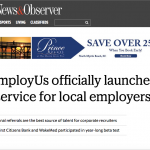 N&O: EmployUs officially launched!