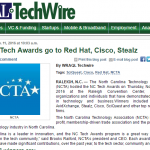 WRAL: Tech Awards go to Red Hat, Cisco, Stealz