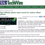 WRAL: Urban Offsets Plants Seed Round From Cofounders