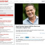 ExitEvent: David Gardner Banks $10M for New Local Cofounders Capital Fund