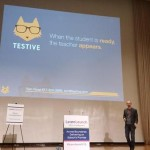 Tom Rose presents Testive and wins