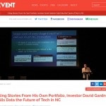 WRAL: A startup grind, Cofounders Capital founder says data is future in NC