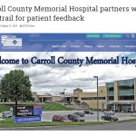 Feedtrail - KTTN: Carroll County Memorial Hospital Partners with Feedtrail for Patient Feedback