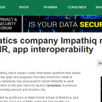 MobiHealthNews: Health informatics company Impathiq raises $350K to improve EMR, app interoperability