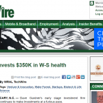 WRAL: Cofounders Capital investss $350K in W-S health informatics startup (5/4/17)