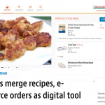 Retailers merge recipes, e-commerce orders as digital tool