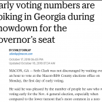 EasyVote - Telegraph: EasyVote Helps Bibb County Process Thousands of Early Voters (10/17/2018)
