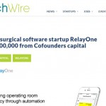 "RelayOne- WRAL: ""Cofounders invests in RelayOne"""
